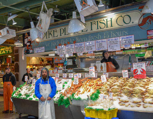 Pike Place Fish Company Seattle Market