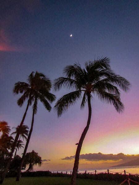 Kaanapali Beach Resort Sunset