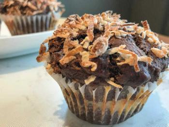 Choco-macaroon Muffin Recipe
