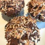 Choco-macaroon Muffins