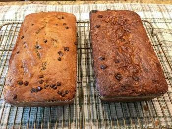 Banana Bread Recipe Two Ways 1