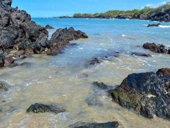 A brief calm moment @ Waialea Beach