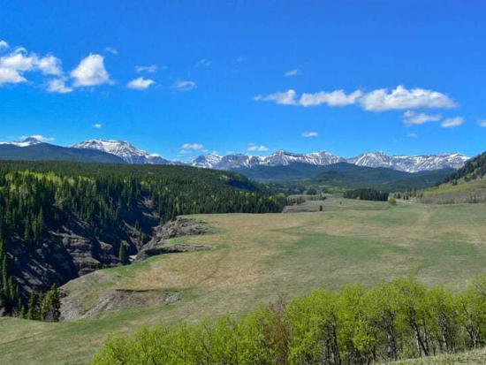 Big Horn Trail near Black Diamond
