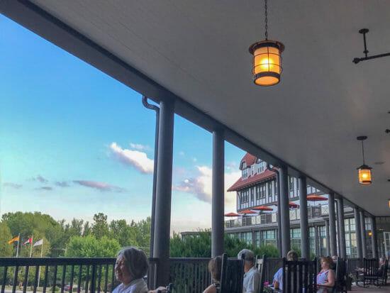 Algonquin Resort Porch