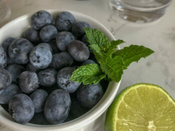 Blueberry Mojito Recipe 1