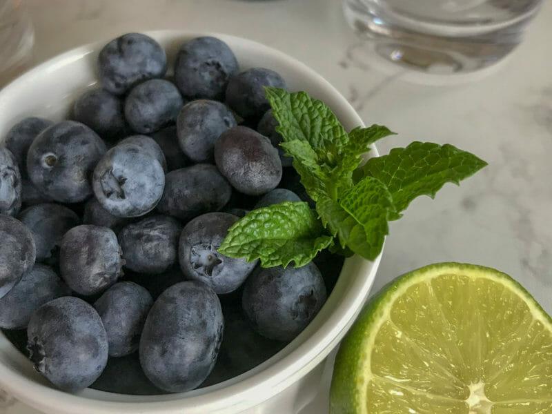Blueberry Mojito Recipe 1