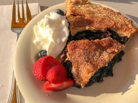 Terrace Grill Blueberry Pie
