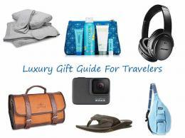 Gifts for Travelers - Luxury Products