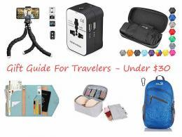 Gifts for Travelers - under $30