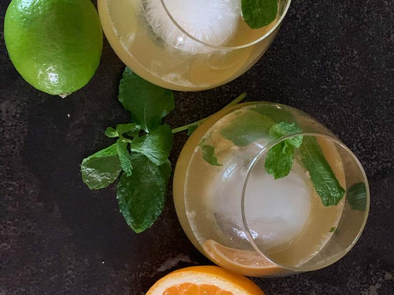 Honey Orange Whisky Refresher