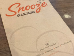 Snooze an A.M. Eatery