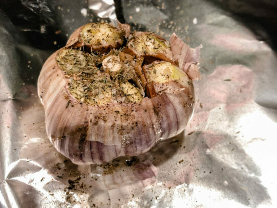 Roasted Garlic for French Onion Chip Dip