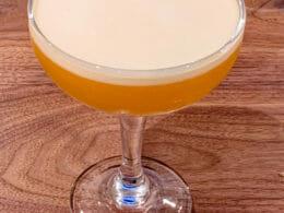 Passion Fruit Fizz Cocktail